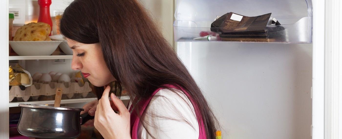 Onhygiënische koelkast