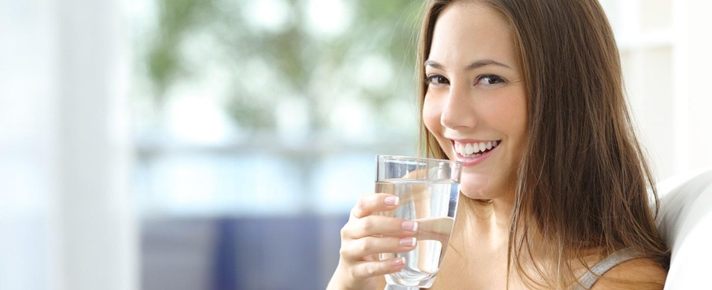 Schoon water drinken